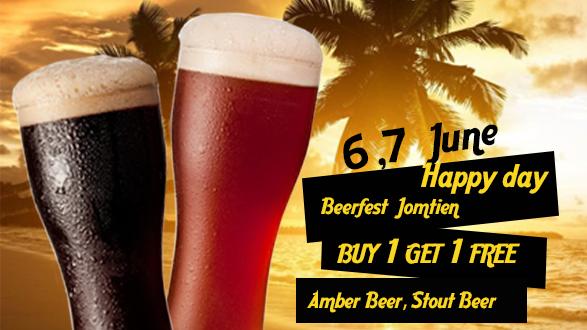Beerfest Jomtien .. BUY 1 GET 1 FREE !